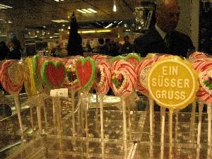 ドイツのペロペロキャンディ