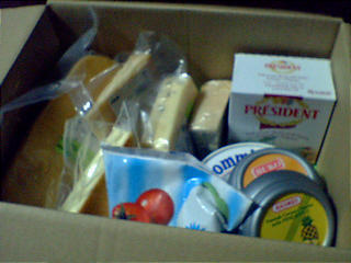 オーダーチーズ・ドットコム、実際届いた福袋